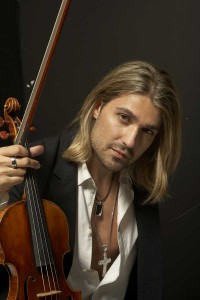 David Garrett Credit: Ian Harrison