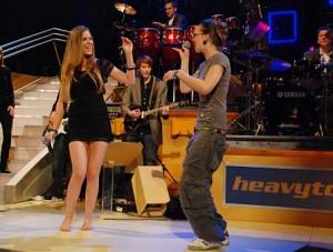 Joss Stone und Stefanie Heinzmann