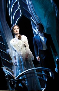 PHOTO CREDIT Sierra Boggess as 'Christine' and Ramin Karimloo as 'The Phantom'(c) Catherine Ashmore