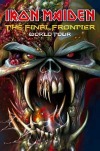 IRON MAIDEN - Tourplakat 2010