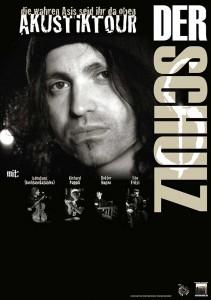 Der Schulz - Tour Plakat