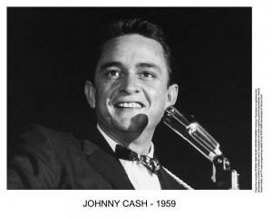 Johnny Cash - Photo live close up 1959