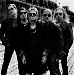 Lou Reed & Metallica - PHOTOCREDIT: ANTON CORBIJN