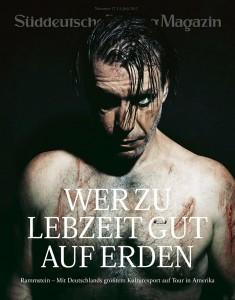 SZ Magzin Cover Rammstein 2012