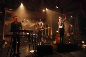 Jennifer Rostock - Live ZDF Bauhaus - Credits: Thomas Ruttke (ZDF Presse Fotograf)