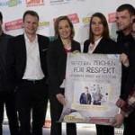 Glasperlenspiel engagiert sich für 361 Grad Respekt Jugendwettbewerb LAUT GEGEN NAZIS