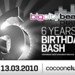 6 Jahre BigCityBeats Samstag 13.03. – Cocoon Club, Frankfurt