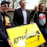 DIE ATZEN treffen Bürgermeister in ATZENHAUSEN!
