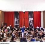 Daniel Barenboim und das West Eastern Divan Orchestra spielen für Papst Benedikt XVI in Castel Gandolf