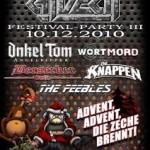 Das Endzeit-Festival kehrt zurück: Berserker, Onkel Tom, Die Knappen, Wortmord und mehr