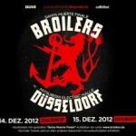 Broilers: »Santa Muerte Finale« in Düsseldorfer Mitsubishi Electric Halle ausverkauft! Zusatzkonzert am 14.12.!