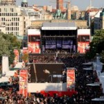 Coca-Cola Soundwave Discovery Tour 2009 – Finale am Brandenburger Tor