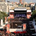 Coca-Cola Soundwave Discovery Tour 2009 – Finale am Brandenburger Tor