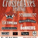 Crossed Axes Festival 2011 – das Line-up steht