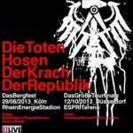 """Die Toten Hosen LIVE – Das Rhein-Derby: """"Das Bergfest"""" in Köln: 29.6. Köln RheinEnergieStadion"""