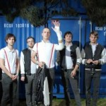 Kraftklub auf »Kolumbien Con K« Tour 2012