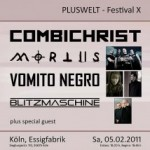 PLUSWELT FESTIVAL 10 u.a mit COMIBICHRIST / MORTIIS / BLITZMASCHINE
