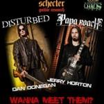 PAPA ROACH – Autogrammstunde mit Gitarrist Jerry Horton im Rahmen der Taste of Chaos Tour