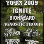 Persistence Tour 2009: the final line-up