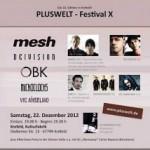 PLUSWELT-Festival X 22.12.2012 Krefeld Kulturfabrik
