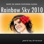 "Marc de Simon feat. Alesia – ""Rainbow Sky 2010"""