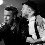 Auftakt der Olly Murs/Robbie Williams-Stadiontour vor 60.000 Zuschauern in Gelsenkirchen