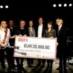 SILLY nah dran – 25.000,- Euro- Spende beim Carreras Benefizkonzert