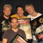 Sunrise Avenue werden mit Gold ausgezeichnet!