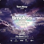TIMELESS Opening Party – 11. Juni – Lio/Ibiza mit Tom Novy, Abigail Bailey (live) und Mousse T.