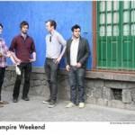 Vampire Weekend  – im Februar auf Tour