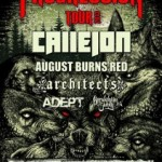 Impericon Progression-Tour im April 2013 mit CALLEJON und ADEPT