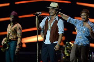 Bruno Mars - Credits: David Hogan