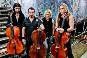 Apocalyptica- Credits: Christie Goodwin