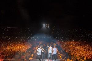 One Direction - Auftakt der Stadiontour in Bogota, Kolumbien (25. April 2014) Foto: Cal Aurand