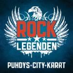"""Das Projekt """"ROCK LEGENDEN"""" von PUHDYS, CITY und KARAT"""