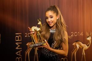 Ariana Grande beim BAMBI 2014 - Credits: Universal Music