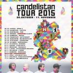 """CULCHA CANDELA auf """"Candelistan"""" Tour"""