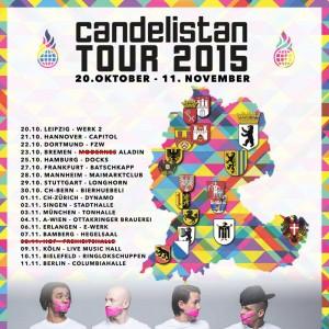 CULCHA CANDELA TOUR