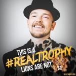 Jan Delay unterstützt neue VIER PFOTEN Kampagne gegen Trophäenjagd in Südafrika
