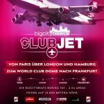 Die BigCityBeats Boeing 747 – 4 DJ-Areas über Europa