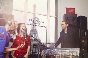 David Guetta - Fans Record UEFA 2016 - Credits: WMG