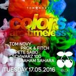 Ibiza wird bunt – Tom Novy's TIMELESS Sommer im LIO