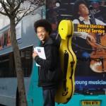 Große Sache: Der junge Cellist Sheku Kanneh-Mason unterzeichnet bei Decca