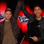 Herzlichen Glückwunsch: Tay Schmedtmann aus dem Team Andreas Bourani ist der The Voice Of Germany-Sieger 2016