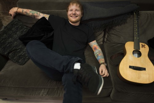 Ed Sheeran - Credits: Greg Williams