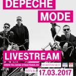 """Telekom präsentiert Depeche Mode in einer Weltpremiere am Release-Tag des Albums """"Spirit"""" live"""