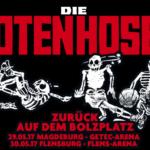 """Die Toten Hosen – """"Zurück auf dem Bolzplatz-Tour"""" Sommer 2017"""