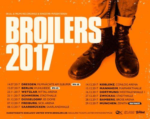 Broilers Tourneedaten