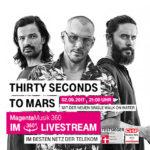 THIRTY SECONDS TO MARS beim Telekom Street Gig live und im Stream erleben