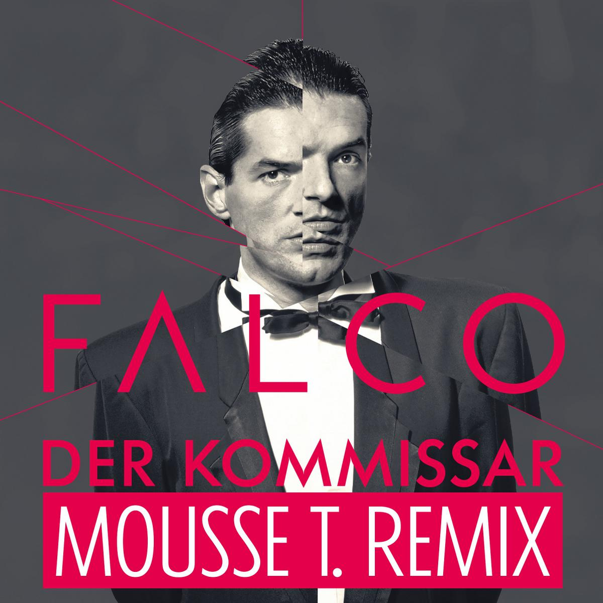 "FALCO – ""DER KOMMISSAR"" im Mousse T. Remix out now – vom Album ""Falco 60 zum 20. Todestag von Falco"